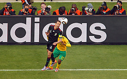 Mexico's Guillermo Franco during the Group A first round 2010 FIFA World Cup South Africa match between South Africa and Mexico at Soccer City Stadium on June 11, 2010 in Johannesburg, South Africa.  (Photo by Vid Ponikvar / Sportida)