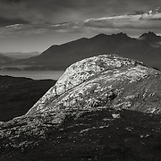 Meall Breac and the Skye Cuillin, Isle of Rum