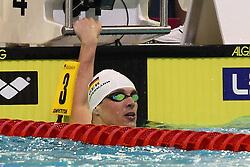 20.08.2014, Europa Sportpark, Berlin, GER, LEN, Schwimm EM 2014, 200m Freistil, M&auml;nner, Finale, im Bild Paul Biedermann (GER) // during the final of men's 200m freestyle of the LEN 2014 European Swimming Championships at the Europa Sportpark in Berlin, Germany on 2014/08/20. EXPA Pictures &copy; 2014, PhotoCredit: EXPA/ Eibner-Pressefoto/ Lau<br /> <br /> *****ATTENTION - OUT of GER*****