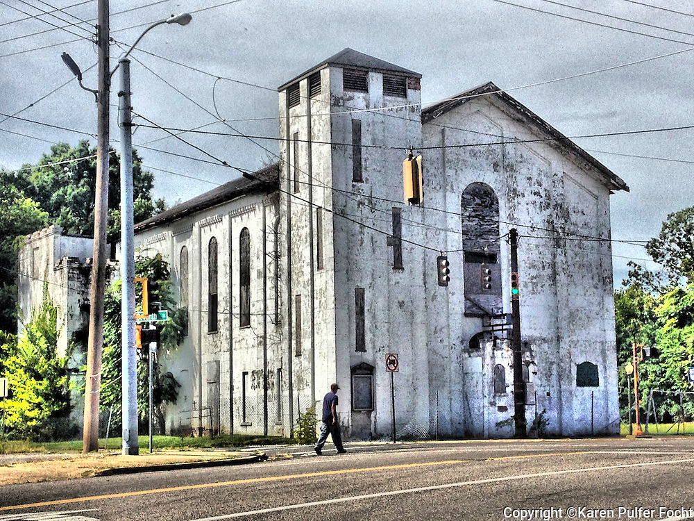 September 1, 2013 - Church at 7th Street and Chelsea Ave. Memphis, Tennessee.