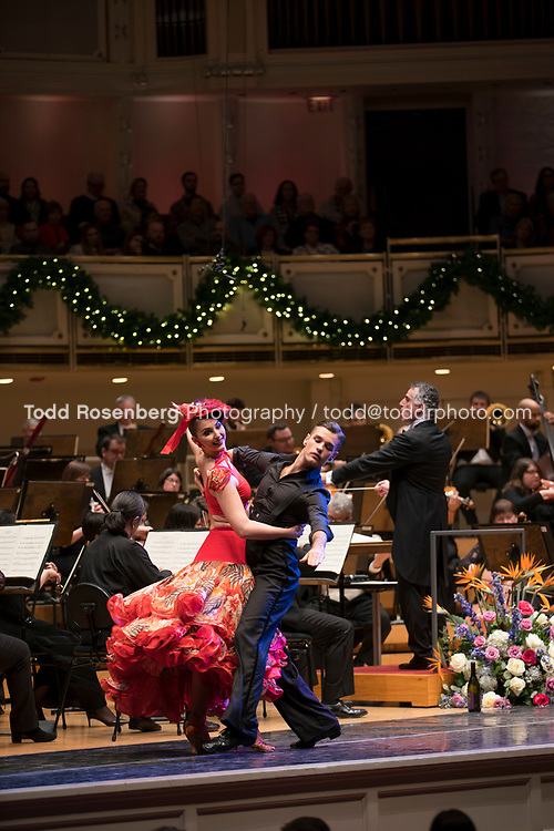 12/30/17 4:05:47 PM -- Chicago, IL, USA<br /> Attila Glatz Concert Productions' &quot;A Salute to Vienna&quot; at Orchestra Hall in Symphony Center. Featuring the Chicago Philharmonic <br /> <br /> &copy; Todd Rosenberg Photography 2017