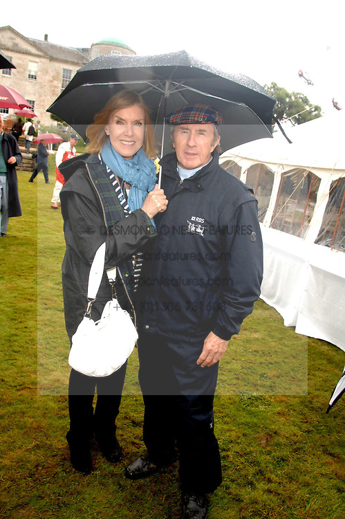 SIR JACKIE & LADY STEWART at the Cartier Style Et Luxe at the Goodwood Festival of Speed, Goodwood House, West Sussex on 24th June 2007.<br />