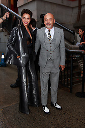 September 13, 2018 - New York, New York, United States - Christian Louboutin attends Marc Jacobs show at New York Fashion Week,  in New York City, US, on 12 September 2018. (Credit Image: © Oleg Chebotarev/NurPhoto/ZUMA Press)