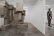Block 2015 and Look 2016 - Antony Gormley,  Fit, a new exhibition of work in the South Galleries of White Cube Bermondsey. The piece is divided into 15 discrete chambers to create a series of dramatic physiological encounters in the form of a labyrinth.