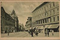 "Zagreb : Ilica. <br /> <br /> Impresum[S. l. : s. n., 1919].<br /> Materijalni opis1 razglednica : tisak ; 9 x 14 cm.<br /> SuradnikMarton, E.<br /> Vrstavizualna građa • razglednice<br /> ZbirkaZbirka razglednica • Grafička zbirka NSK<br /> ProjektPozdrav iz Hrvatske • Pozdrav iz Zagreba<br /> Formatimage/jpeg<br /> PredmetZagreb –– Ilica<br /> SignaturaRZG-ILIC-45<br /> Obuhvat(vremenski)20. stoljeće<br /> NapomenaPutovala je 1919. godine • Razglednica je izdana u nakladnoj seriji ""Umjetničkih zagrebačkih vazglednica"". • Razglednica je tiskana po fotografiji E. Martona.<br /> PravaJavno dobro<br /> Identifikatori000945837<br /> NBN.HRNBN: urn:nbn:hr:238:951923 <br /> <br /> Izvor: Digitalne zbirke Nacionalne i sveučilišne knjižnice u Zagrebu"
