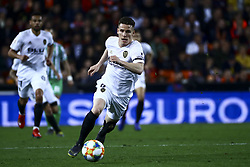 February 28, 2019 - Valencia, Spain - Kevin Gameiro of Valencia CF  During Spanish King La Copa match between  Valencia cf vs Real Betis Balompie Second leg  at Mestalla Stadium on February 28, 2019. (Photo by Jose Miguel Fernandez/NurPhoto) (Credit Image: © Jose Miguel Fernandez/NurPhoto via ZUMA Press)