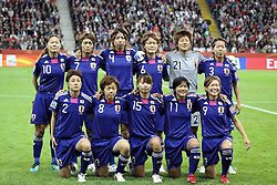 17.07.2011, Commerzbankarena, Frankfurt, GER, FIFA Women Worldcup 2011, Finale,  Japan (JPN) vs. USA (USA), im Bild:  .teamfoto Japan.. // during the FIFA Women Worldcup 2011, final, Japan vs USA on 2011/07/11, FIFA Frauen-WM-Stadion Frankfurt, Frankfurt, Germany.   EXPA Pictures © 2011, PhotoCredit: EXPA/ nph/  Mueller       ****** out of GER / CRO  / BEL ******