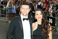 Carl Froch; Rachael Cordingley, GQ Men of the Year Awards, Royal Opera House, London UK, 03 September 2013, (Photo by Richard Goldschmidt)
