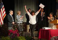 Laconia Academy's Graduation ceremony at Laconia High School.  Karen Bobotas/for the Laconia Daily Sun