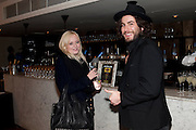 karen knowles; danny germaine, InStyle's Best Of British Talent Party in association with Lancome. Shoreditch HouseLondon. 25 January 2011, -DO NOT ARCHIVE-© Copyright Photograph by Dafydd Jones. 248 Clapham Rd. London SW9 0PZ. Tel 0207 820 0771. www.dafjones.com.