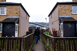 A general view of The John Smith's Stadium, home to Huddersfield Town as fans begin to arrive for the Premier League fixture against Manchester City - Mandatory by-line: Robbie Stephenson/JMP - 20/01/2019 - FOOTBALL - The John Smith's Stadium - Huddersfield, England - Huddersfield Town v Manchester City - Premier League