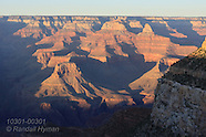 03: GRAND CANYON BRIGHT ANGEL SUNSET