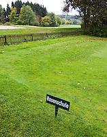 WESTERBURG , DUITSLAND - Maaischool van Golf Club Wiesensee bij Lindner Hotel & Sporting Club Wiesensee in Westerburg (Westerwald). COPYRIGHT KOEN SUYK