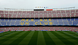 A general view of the Nou Camp - Photo mandatory by-line: Dougie Allward/JMP - Mobile: 07966 386802 - 18/03/2015 - SPORT - Football - Barcelona - Nou Camp - Barcelona v Manchester City - UEFA Champions League - Round 16 - Second Leg