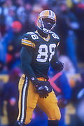 Green Bay Packers tight end Bubba Franks (86) during an NFL football game, Sunday, Dec. 30, 2001, in Green Bay, Wisc. The Packers defeated the Vikings 24-13.