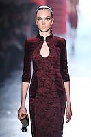 Siri Tollerød walks down runway for F2012 Jason Wu's collection in Mercedes Benz fashion week in New York on Feb 10, 2012 NYC