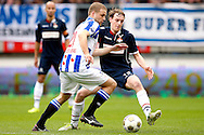 Onderwerp/Subject: SC Heerenveen - Willem II - Eredivisie<br /> Reklame:  <br /> Club/Team/Country: <br /> Seizoen/Season: 2012/2013<br /> FOTO/PHOTO: Joey VAN DEN BERG (L) of SC Heerenveen in duel with Simon VAN ZEELST (R) of Willem II. (Photo by PICS UNITED)<br /> <br /> Trefwoorden/Keywords: <br /> #04 $94 ±1355241558607<br /> Photo- & Copyrights © PICS UNITED <br /> P.O. Box 7164 - 5605 BE  EINDHOVEN (THE NETHERLANDS) <br /> Phone +31 (0)40 296 28 00 <br /> Fax +31 (0) 40 248 47 43 <br /> http://www.pics-united.com <br /> e-mail : sales@pics-united.com (If you would like to raise any issues regarding any aspects of products / service of PICS UNITED) or <br /> e-mail : sales@pics-united.com   <br /> <br /> ATTENTIE: <br /> Publicatie ook bij aanbieding door derden is slechts toegestaan na verkregen toestemming van Pics United. <br /> VOLLEDIGE NAAMSVERMELDING IS VERPLICHT! (© PICS UNITED/Naam Fotograaf, zie veld 4 van de bestandsinfo 'credits') <br /> ATTENTION:  <br /> © Pics United. Reproduction/publication of this photo by any parties is only permitted after authorisation is sought and obtained from  PICS UNITED- THE NETHERLANDS