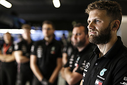 May 10, 2019 - Barcelona, Spain - Motorsports: FIA Formula One World Championship 2019, Grand Prix of Spain, ..Mechanic of Mercedes AMG Petronas Motorsport  (Credit Image: © Hoch Zwei via ZUMA Wire)