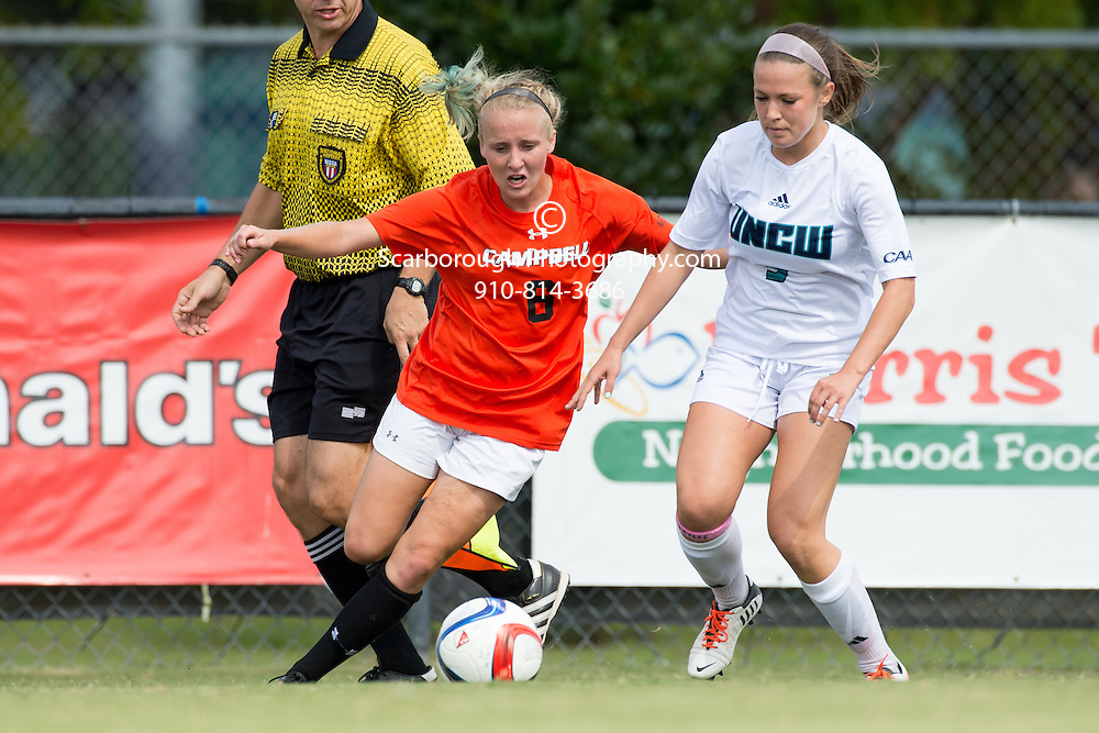 2015 Campbell University Women Soccer vs UNC Wilmington Seahawks