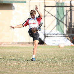 During the Sharks training session at Absa Stadium on August 25th, 2009 in Durban, South Africa. Photo by Steve Haag