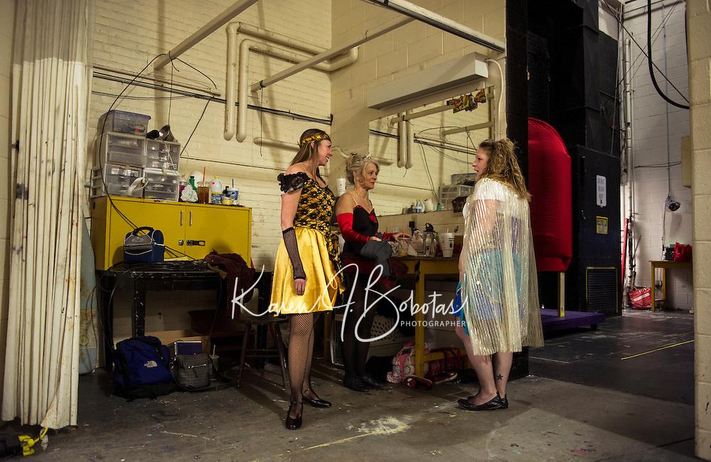 Barnum the circus musical with Streetcar Company at Interlakes High School.  Karen Bobotas for the Laconia Daily Sun