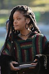 November 7, 2016 - New York, NY, USA - November 7, 2016 New York City..Rihanna on the film set of Ocean's Eight in Central Park on November 7, 2016 in New York City. (Credit Image: © Kristin Callahan/Ace Pictures via ZUMA Press)