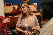 Susannah Baker-Smith, Other,Riyas Komu and Peter Drake. - VIP  launch of Aicon. London's largest contemporary Indian art gallery. Heddon st. and afterwards at Momo.15 Marc h 2007.  -DO NOT ARCHIVE-© Copyright Photograph by Dafydd Jones. 248 Clapham Rd. London SW9 0PZ. Tel 0207 820 0771. www.dafjones.com.