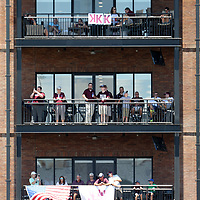 Mississippi State fans watch the 2019 NCAA Starkville Regional where Mississippi State played Southern at Dudy Noble Field on Friday.