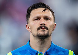 14.03.2019, Red Bull Arena, Salzburg, AUT, UEFA EL, FC Red Bull Salzburg vs SSC Napoli, Achtelfinale, Rückspiel, im Bild Mario Rui (SSC Napoli) // during the UEFA Europa League round of 16, 2nd leg match between FC Red Bull Salzburg and SSC Napoli at the Red Bull Arena in Salzburg, Austria on 2019/03/14. EXPA Pictures © 2019, PhotoCredit: EXPA/ Johann Groder