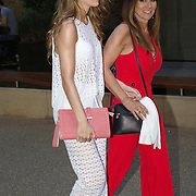 Linda Lusardi  attending the launch of Andrea McLean's new book Confessions of a Menopausal Woman at the Devonshire Club in London on June 26 2018..