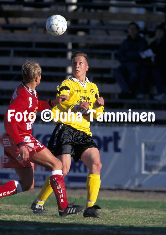 08.05.1996.Tomi Airaksinen - Kuopion Palloseura.©JUHA TAMMINEN