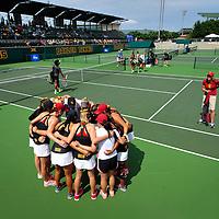 NCAA Quarter Finals: USC v Baylor: Women's Tennis