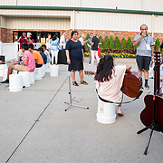 Cardinal Health RBC 2019 Customer Appreciation Night Music Festival at the Grand Ole Opry. Instrument testing. Photo by Alabastro Photography.