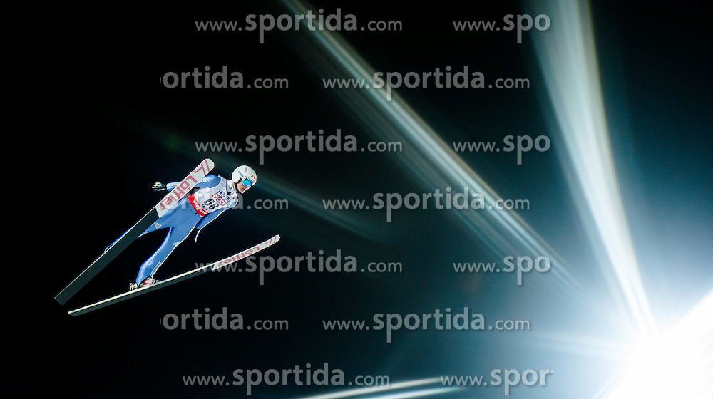 24.02.2015, Lugnet Ski Stadium, Falun, SWE, FIS Weltmeisterschaften Ski Nordisch, Skisprung, Herren, Training, im Bild Marinus Kraus (GER) // Marinus Kraus of Germany during the Mens Skijumping Training of the FIS Nordic Ski World Championships 2015 at the Lugnet Ski Stadium, Falun, Sweden on 2015/02/24. EXPA Pictures © 2015, PhotoCredit: EXPA/ JFK