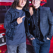 NLD/Halfweg/20161002 - Foto jury The voice of Holland 2016 / 2017, Ali B., en Guus Meeuwis