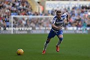Reading's Chris Gunter during the Sky Bet Championship match between Reading and Brighton and Hove Albion at the Madejski Stadium, Reading, England on 31 October 2015. Photo by Mark Davies.
