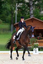 Hayler Roberta (GBR) - Active Walero<br /> FEI European Dressage Championship Young Riders - Bern 2012<br /> © Hippo Foto - Leanjo de Koster
