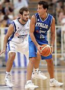 ATENE 21 AGOSTO 2007<br /> BASKET<br /> TORNEO AKROPOLIS<br /> ITALIA-GRECIA<br /> NELLA FOTO: BULLERI<br /> FOTO CIAMILLO-CASTORIA