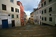 Street of Gibraltar, the British overseas territory