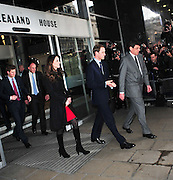 25.FEBRUARY.2011. LONDON<br /> <br /> PRINCE WILLIAM, KATE MIDDLETON AND PRINCE HARRY VISITING NEW ZEALAND HOUSE, LONDON<br /> <br /> BYLINE: EDBIMAGEARCHIVE.COM<br /> <br /> *THIS IMAGE IS STRICTLY FOR UK NEWSPAPERS AND MAGAZINES ONLY*<br /> *FOR WORLD WIDE SALES AND WEB USE PLEASE CONTACT EDBIMAGEARCHIVE - 0208 954 5968*