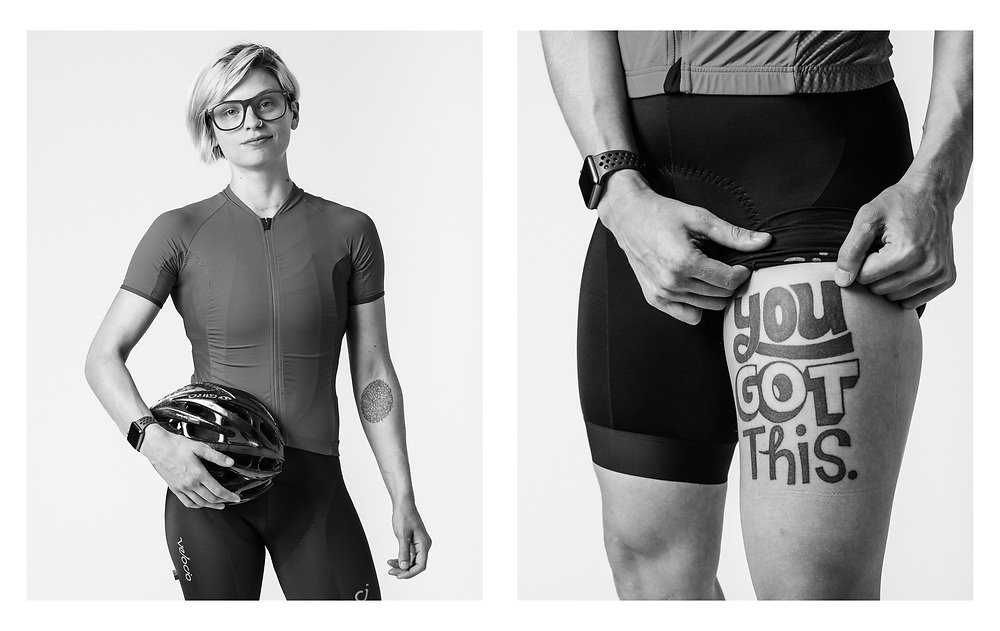 Cait Dooley, product manager at GT Bicycles, mountain bike racer, and cancer kicker. | Bicycling Magazine