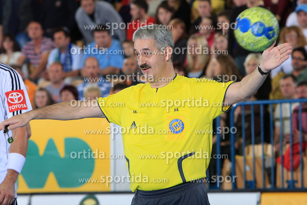 Referee Miroslaw Baum at qualification match for  Euro 2010 in Austria between national teams of Slovenia and Germany, Group 5, on November 2, 2008 in Arena Zlatorog, Celje, Slovenia. (Photo by Vid Ponikvar / Sportal Images)/ Sportida
