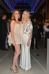 Left to right, TALLULAH RENDALL and her mother LIZ BREWER at Steps To The Future -in aid of RAFT (Restoration of Appearance & Function Trust) and Walking With The Wounded held at The Hurlingham Club, London on 28th November 2014.