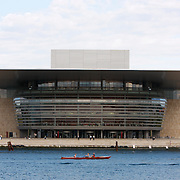The Copenhagen Opera House or Operaen is the national opera house of Denmark, and among the most modern opera houses in the world. The Operaen was donated to the Danish state by the A.P. Møller and Chastine Mc-Kinney Møller Foundation in August 2000. Moller was co-founder of Maersk shipping company.<br /> <br /> Photography by Jose More