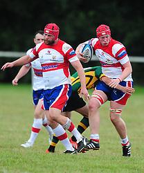 BUGBROOKE BRING DOWN WELLINGBOROUGHS DAN PATEMAN, Wellingborough Rugby RFC v Bugbrooke RFC, Midlands 1 East League, Cut Throat Lane Gound, Gt Doddington, Saturday 3rd September 2016