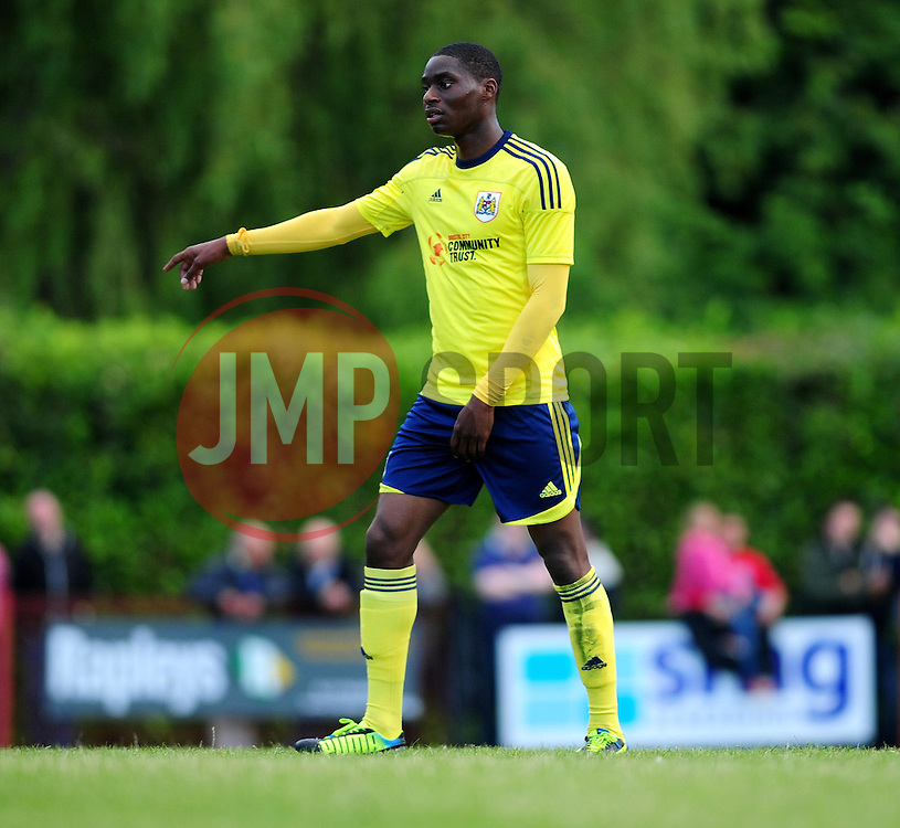 Bristol City's Jordan Wynter - Photo mandatory by-line: Dougie Allward/JMP - Tel: Mobile: 07966 386802 03/07/2013 - SPORT - FOOTBALL - Bristol -  Ashton and Backwell United V Bristol City - Pre Season Friendly