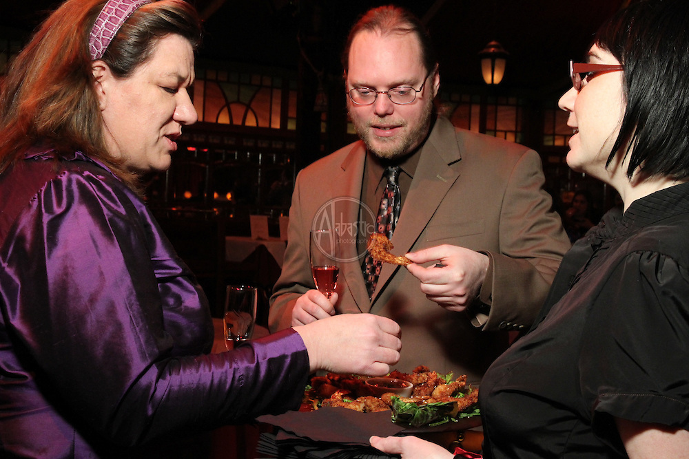 Seattle Opera BRAVO! Club Winter Ball 2011 at Teatro Zinzanni on January 31, 2011.