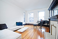 Living Room at 337 West 70th Street