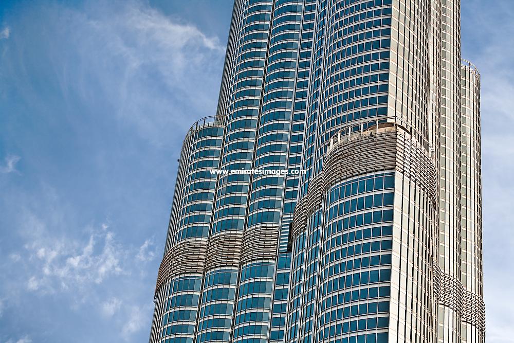 Burj Khalifa in Dubai, the world's tallest building