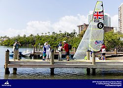Aarhus, Denmark is hosting the 2018 Hempel Sailing World Championships from 30 July to 12 August 2018. More than 1,400 sailors from 85 nations are racing across ten Olympic sailing disciplines as well as Men's and Women's Kiteboarding. <br /> 40% of Tokyo 2020 Olympic Sailing Competition places will be awarded in Aarhus as well as 12 World Championship medals. ©PEDRO MARTINEZ/SAILING ENERGY/AARHUS 2018<br /> 02 February, 2019. Hempel World Cup Series Miami<br /> <br /> From 27 January to 3 February 2019, Miami will host sailors for the second round of the 2019 Hempel World Cup Series in Coconut Grove. More than 650 sailors from 60 nations will race across the 10 Olympic Events. ©PEDRO MARTINEZ/SAILING ENERGY/WORLD SAILING 01 February, 2019.